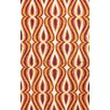 nuLOOM Uzbek Orange Luciano Area Rug