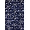 nuLOOM Filigree Ingrit Blue Area Rug