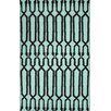 nuLOOM Varanas Light Blue Anglang Rug