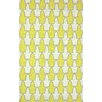 nuLOOM Remade Yellow Trina Rug