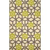 nuLOOM Heritage Jacquelyn Green Geometric Area Rug
