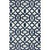 nuLOOM Filigree Mykonos Blue/White Area Rug