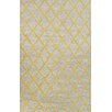 nuLOOM Europe Yellow Thiest Area Rug
