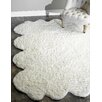 nuLOOM Octo Pelt Faux Sheepskin Hand Tufted Natural Area Rug