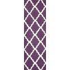 nuLOOM Moderna Purple Moroccan Trellis Area Rug
