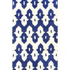 nuLOOM Palazzo Hand Tufted Royal Blue Area Rug