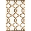 nuLOOM Geometric Rosa Hand Hooked Cotton Cocoa Area Rug