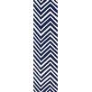 nuLOOM Trellis Navy Blue Chevron Area Rug