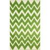 nuLOOM Shag Green Plush Rug