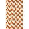 nuLOOM Trellis Orange Rhonda Area Rug