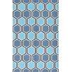nuLOOM Uzbek Ahrens Blue Area Rug