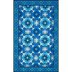 nuLOOM Uzbek Ledoux Blue Area Rug