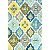 nuLOOM Block Island Nikita Yellow Indoor/Outdoor Area Rug