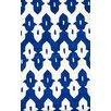 nuLOOM Moderna Regal Blue Ikat Trellis Area Rug