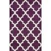 nuLOOM Meeker Trellis Purple Area Rug