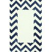 nuLOOM Perry Hand Tufted Navy Area Rug