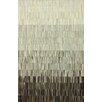 nuLOOM Hides Ombre Patch Black/Grey Striped Area Rug