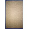 nuLOOM Natura Framed Border Royal Blue Area Rug