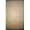 nuLOOM Natura Framed Border Light Grey Area Rug