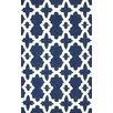 nuLOOM Homestead Blue Heather Geometric Area Rug
