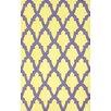 nuLOOM Brilliance Yellow/Purple Damian Area Rug
