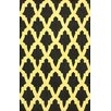 nuLOOM Brilliance Yellow/Black Damian Area Rug