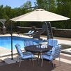 Blue Wave Products 10' Santiago Cantilever Umbrella