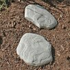 Luna Stepping Stone - Quantity: 2, Color: Sandstone - Good Ideas Garden Statues and Outdoor Accents