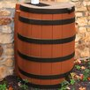 Good Ideas Rain Wizard 40 Gallon Rain Barrel with Darkened Ribs