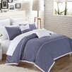 North Home Campbell 3 Piece Duvet Cover Set