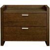 Star International Xena 2 Drawer Nightstand