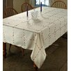 Violet Linen Crown Tablecloth