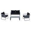 DG Casa Coronado 4 Piece Seating Group with Cushions