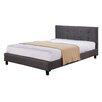 Varick Gallery Bagley Queen Upholstered Platform Bed