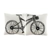 Bicor 2 Piece Murals Throw Pillow Set