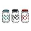 Global Amici Pet Paw 36-Quart Milan Hermetic Preserving Jar