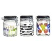 Global Amici Kitchenware Hermetic Preserving Jar (Set of 3)