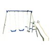 Flexible Flyer Swing N Glide Gym Swing Set