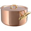 Mauviel M'heritage Stock Pot with Lid