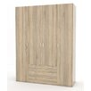 Tvilum Space 4 Door Wardrobe
