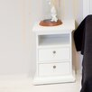 Tvilum Paris Sleeping 2 Drawer Bedside Table