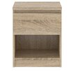 Tvilum Naia 1 Drawer Bedside Table
