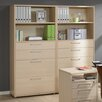 Tvilum Prima Combination Barrister Bookcase