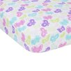 Miracle Blanket Butterflies Flat Crib Sheet