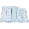 Miracle Blanket 4 Piece Swaddle Blanket Set