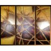 Acura Rugs Ruleless 3 Piece Original Painting on Wrapped Canvas Set