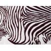 Acura Rugs Animal Hide Brown/White Zebra Area Rug