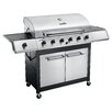 Char-Broil Classic 6 Burner 65,000 BTU Gas Grill with Side Burner