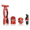 Metrokane Rabbit 4 Piece Wine Tool Kit Set