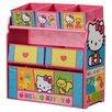 Delta Children Hello Kitty Multi Bin Toy Organizer